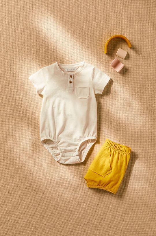 Mango Kids - Body niemowlęce Jamies 62-80 cm
