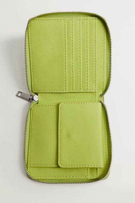 Mango - Peňaženka MODA zelená