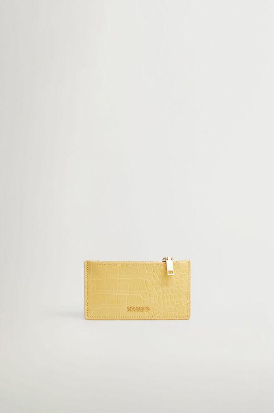 žltá Mango - Peňaženka Agustin Dámsky