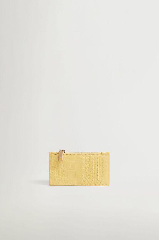 Mango - Peňaženka Agustin žltá