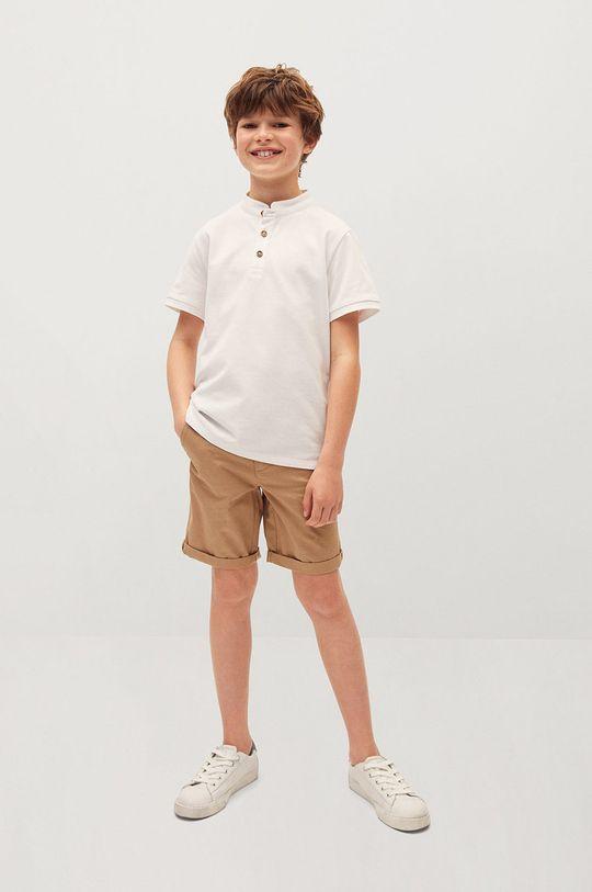 Mango Kids - Polo dziecięce HANOI82 biały