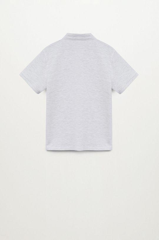Mango Kids - Dětské polo tričko HANOI82 světle šedá