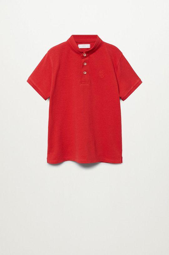 czerwony Mango Kids - Polo dziecięce Hanoi8 110-164 cm Chłopięcy