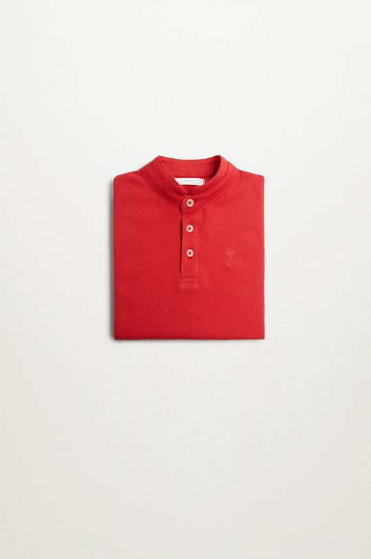 Mango Kids - Polo dziecięce Hanoi8 110-164 cm czerwony