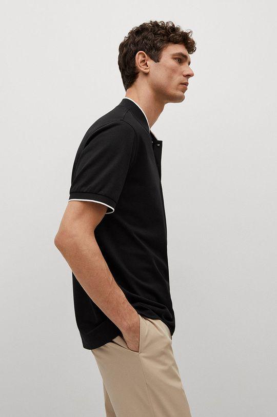 čierna Mango Man - Polo tričko Branch