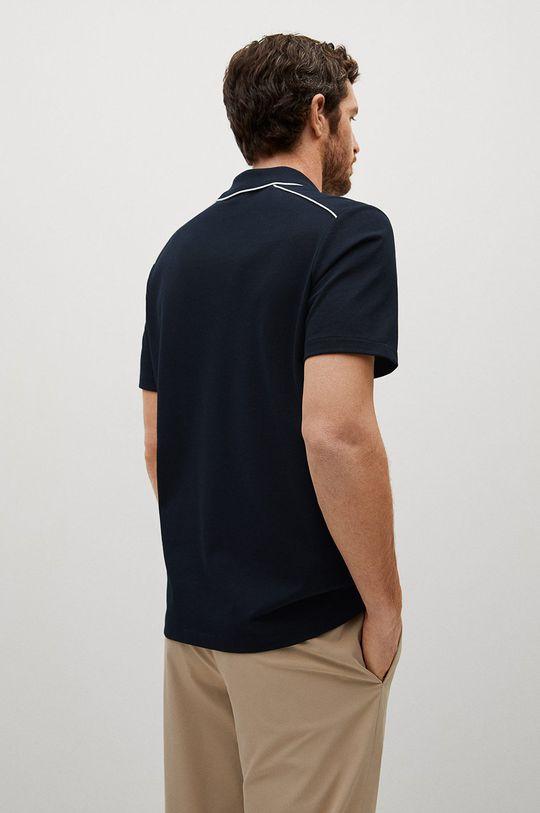 Mango Man - Polo tričko Pipe  55% Bavlna, 45% Polyester