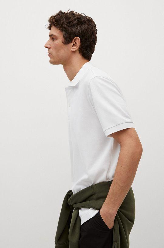 bílá Mango Man - Polo tričko Rea