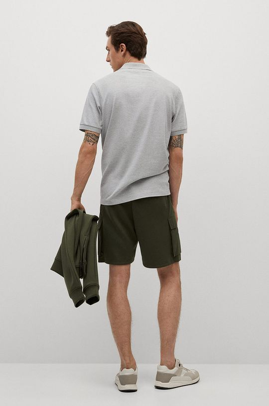 Mango Man - Polo tričko Rea  48% Bavlna, 52% Polyester