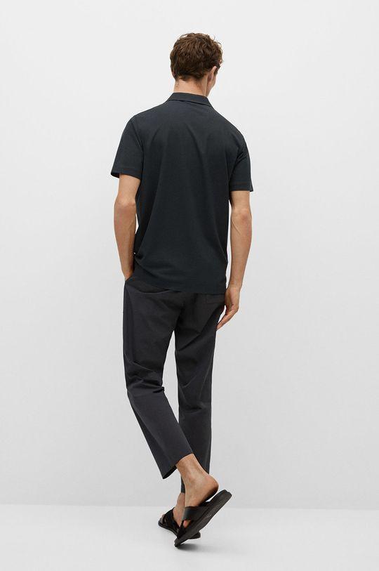 Mango Man - Polo tričko Active  50% Polyester, 50% Viskóza
