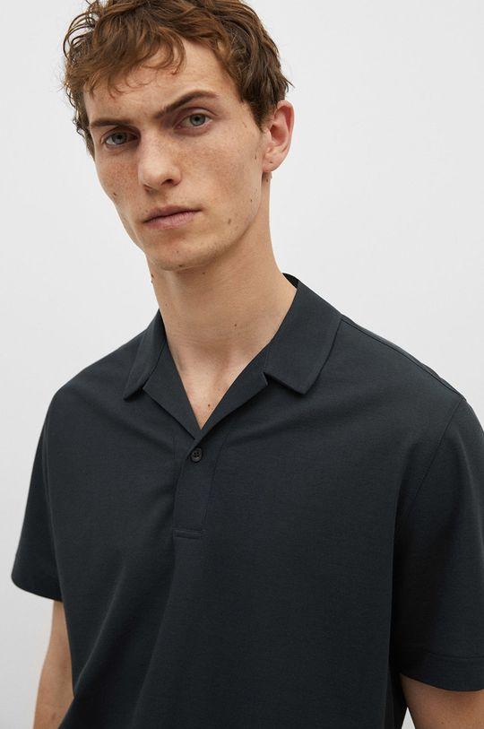 tmavomodrá Mango Man - Polo tričko Active