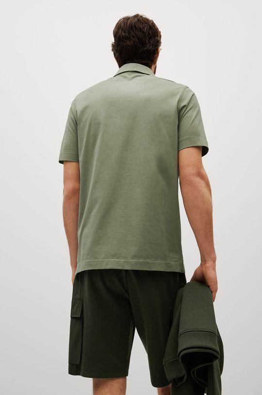 Mango Man - Polo tričko Ezequi  79% Bavlna, 21% Polyester