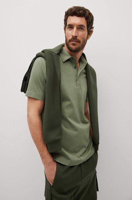 zelená Mango Man - Polo tričko Ezequi