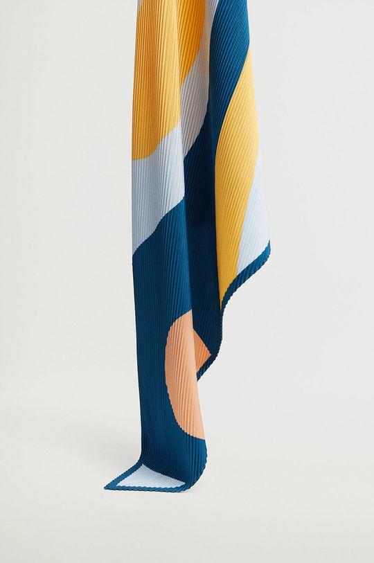 světle modrá Mango - Šátek ABSTRACT