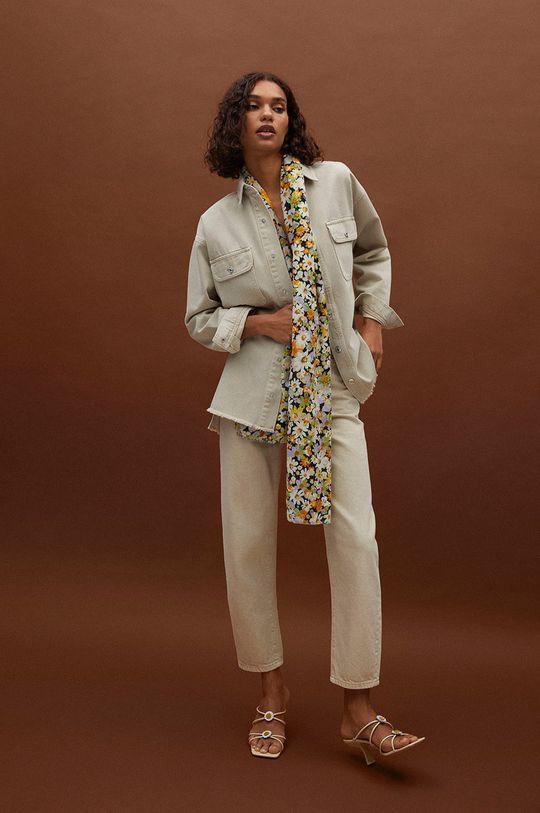 Mango - Šátek LULIS  60% Polyester, 40% Recyklovaný polyester