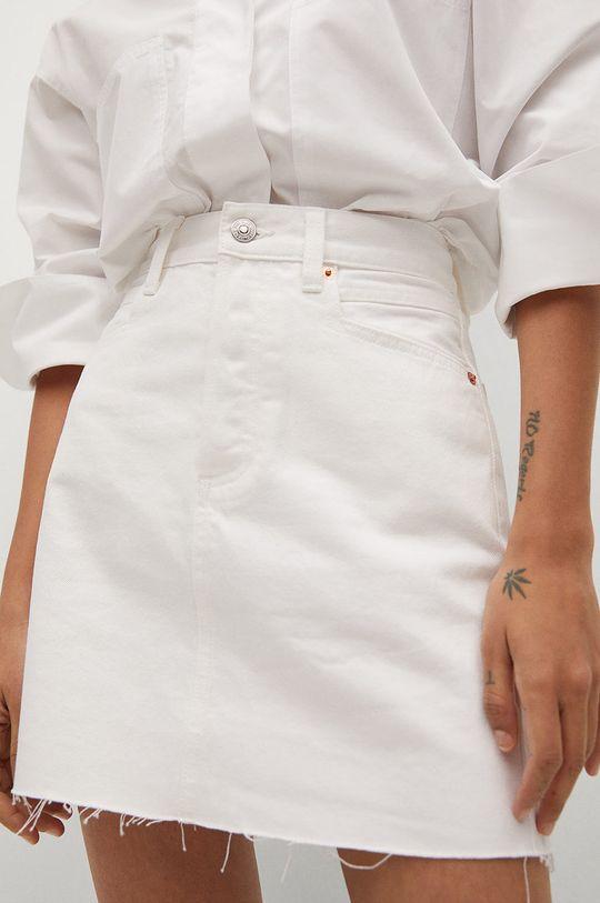 Mango - Rifľová sukňa Rachel Dámsky