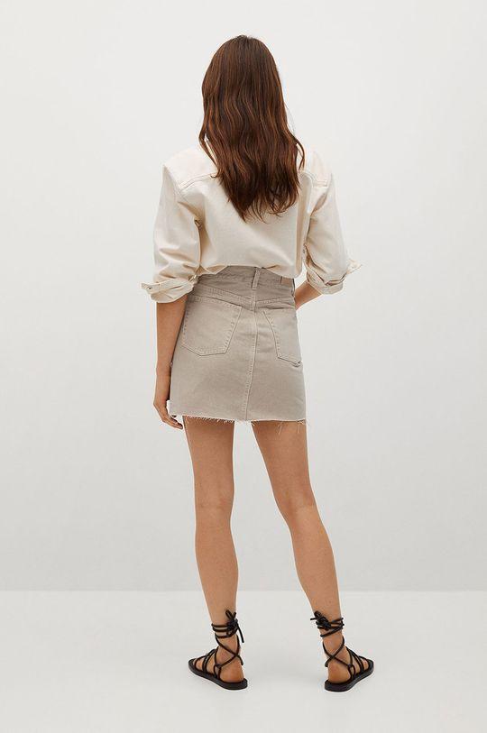 Mango - Džínová sukně Rachel  100% Bavlna