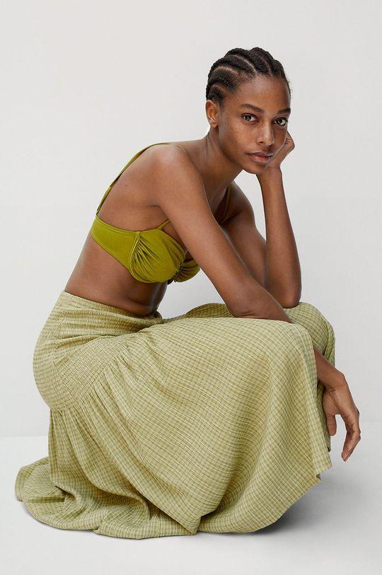 zelená Mango - Sukně Sonia