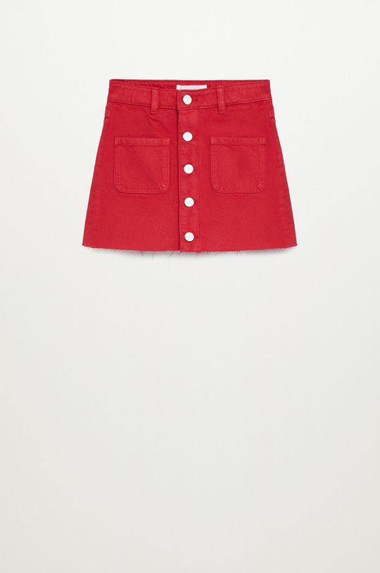 czerwony Mango Kids - Spódnica dziecięca RITA Dziewczęcy