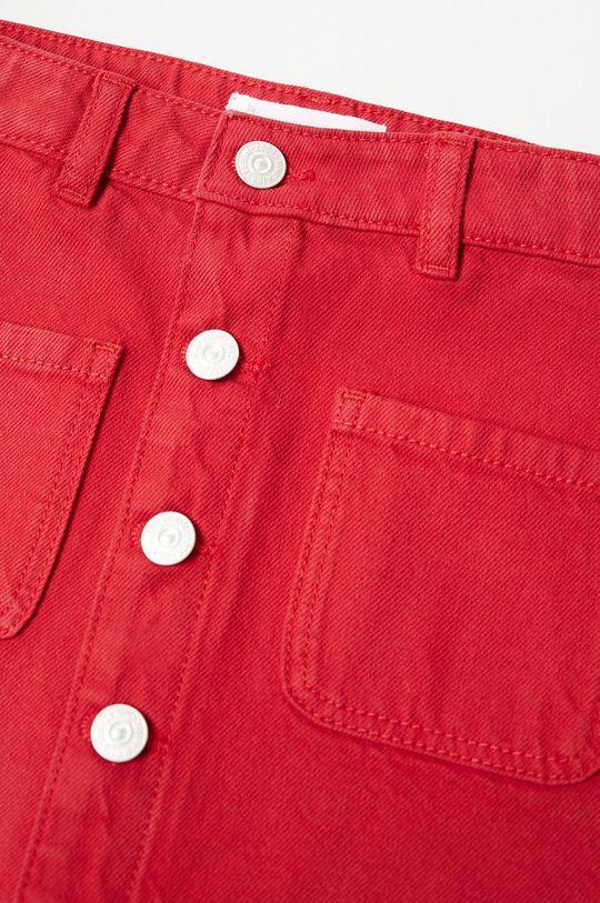 Mango Kids - Spódnica dziecięca RITA czerwony