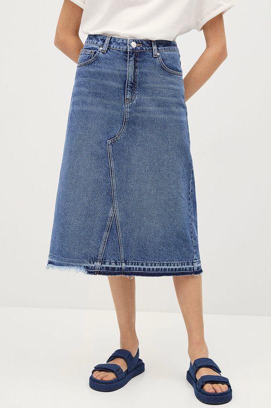modrá Mango Kids - Dětská sukně BROKY Dívčí