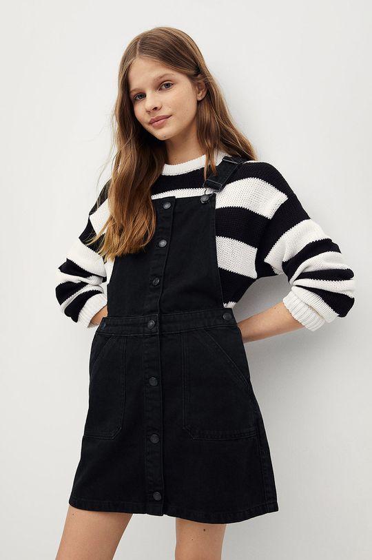 šedá Mango Kids - Dívčí šaty ELSA Dívčí