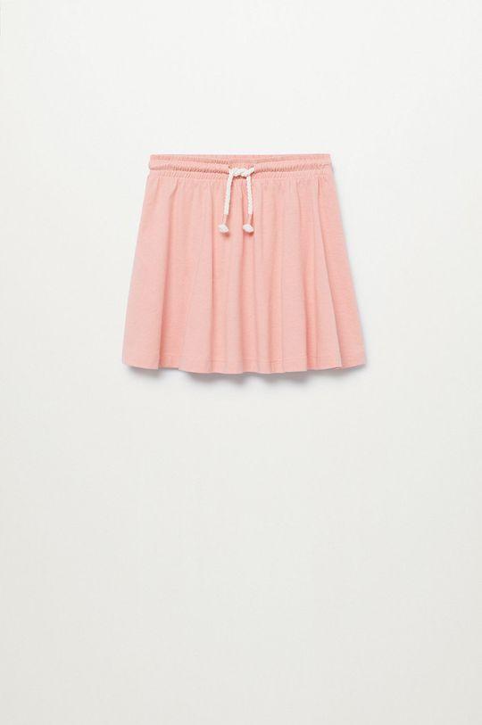 pastelowy różowy Mango Kids - Spódnica dziecięca Skaty8 116-164 cm Dziewczęcy