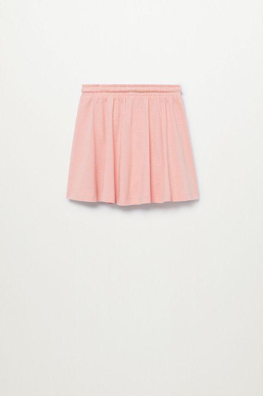 Mango Kids - Spódnica dziecięca Skaty8 116-164 cm 100 % Bawełna