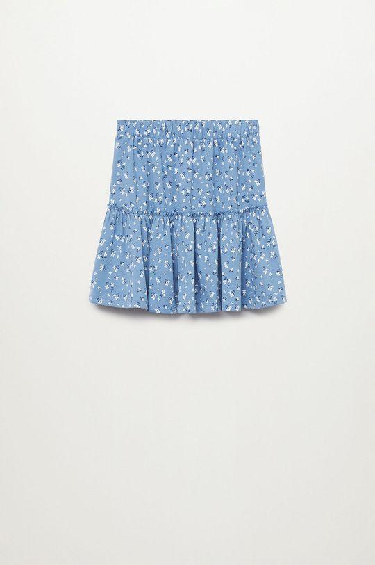 niebieski Mango Kids - Spódnica dziecięca COSTA Dziewczęcy