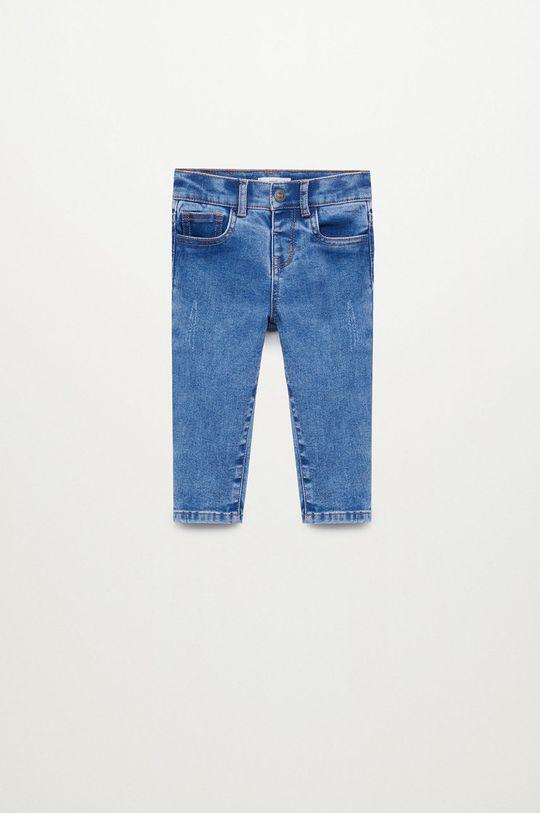 niebieski Mango Kids - Jeansy dziecięce NORDIC Chłopięcy