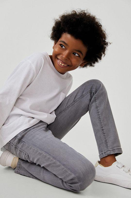 Mango Kids - Jeansy dziecięce Slim 110-164 cm Chłopięcy