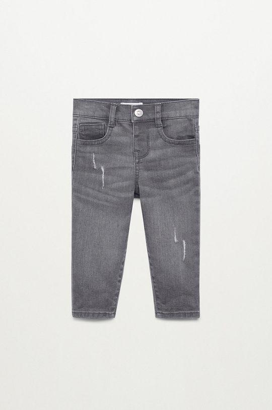 szary Mango Kids - Jeansy dziecięce Martin 80-104 cm Chłopięcy