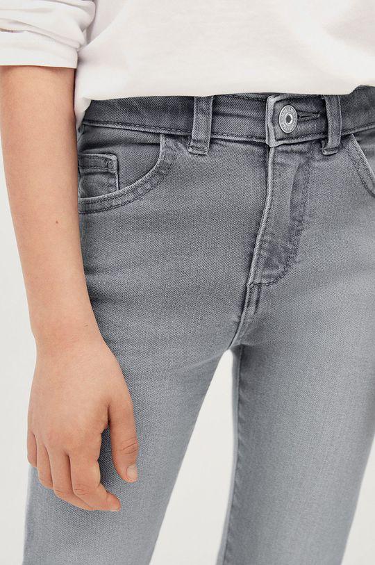 Mango Kids - Jeansy dziecięce Skinny 116-164 cm Materiał zasadniczy: 98 % Bawełna, 2 % Elastan, Podszewka kieszeni: 35 % Bawełna, 65 % Poliester