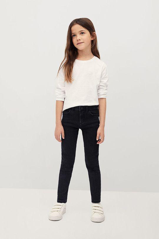 Mango Kids - Jeansy dziecięce Skinny 134-164 cm szary
