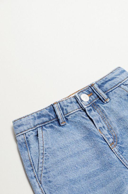 niebieski Mango Kids - Jeansy dziecięce CULOTTE