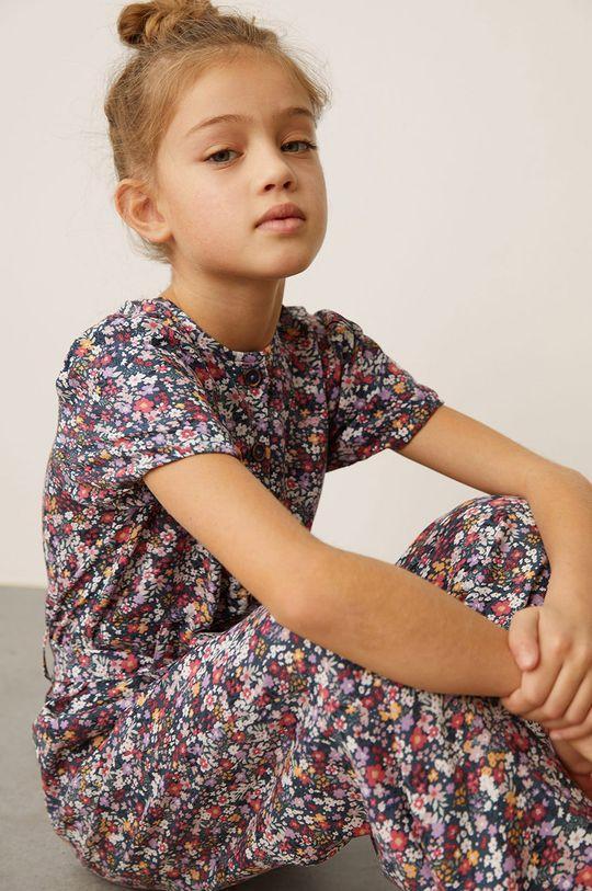Mango Kids - Detský overal Nicolete 110-164 cm čierna