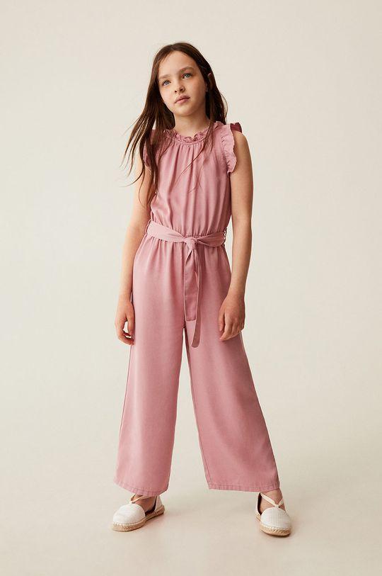 pastelowy różowy Mango Kids - Kombinezon dziecięcy MYRA Dziewczęcy