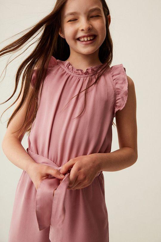 pastelowy różowy Mango Kids - Kombinezon dziecięcy MYRA