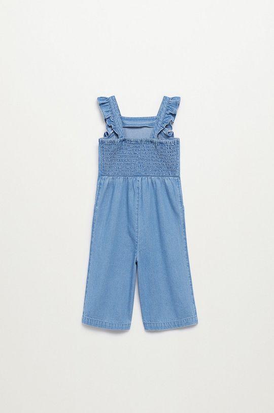 Mango Kids - Detský overal Zoe 86-110 cm modrá