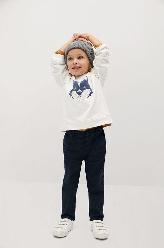 Mango Kids - Дитячі штани CHINO8 темно-синій