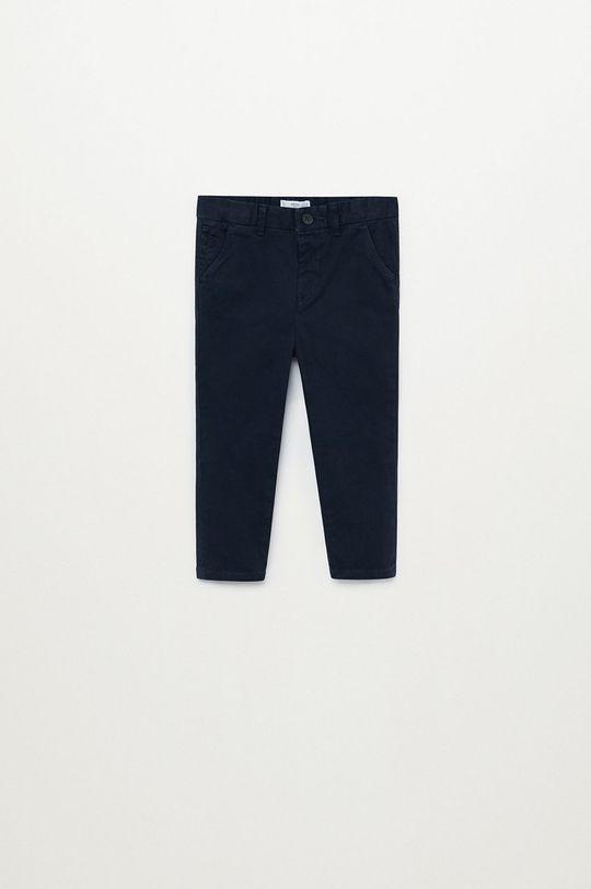 темно-синій Mango Kids - Дитячі штани CHINO8