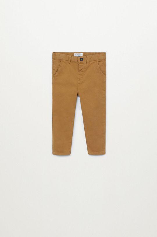 коричневий Mango Kids - Дитячі штани CHINO8 Для хлопчиків