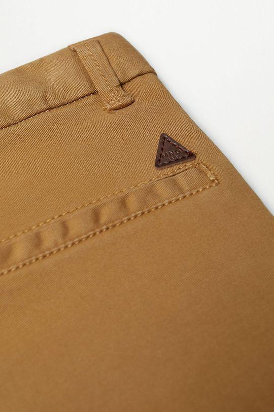 Mango Kids - Дитячі штани CHINO8 коричневий