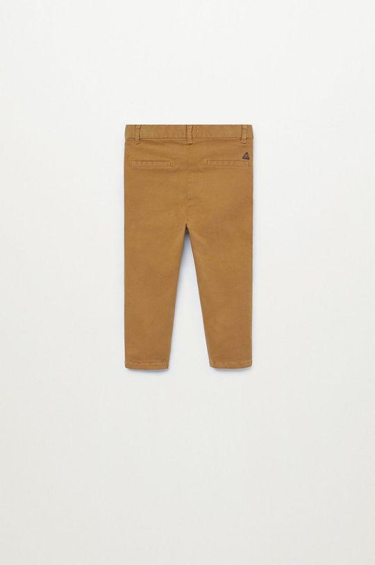 Mango Kids - Дитячі штани CHINO8  Основний матеріал: 98% Бавовна, 2% Еластан Підкладка кишені: 100% Бавовна