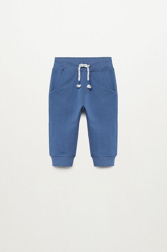 niebieski Mango Kids - Spodnie dziecięce MATEOP7 Chłopięcy