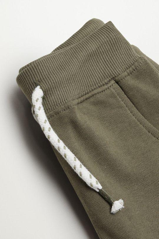 Mango Kids - Spodnie dziecięce MATEOP7 100 % Bawełna organiczna