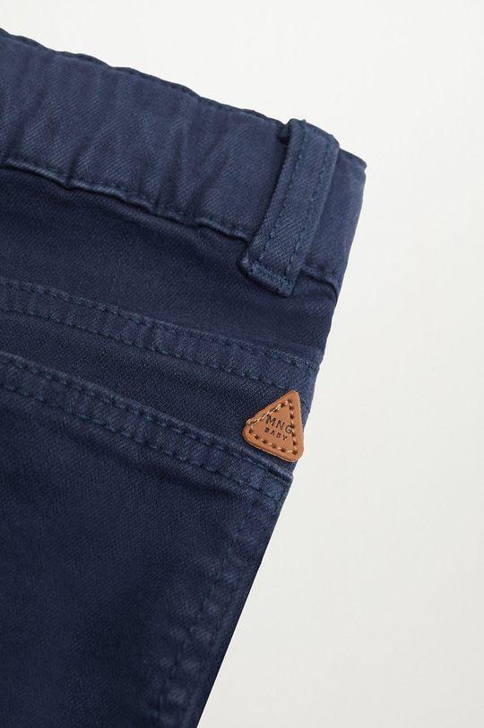 Mango Kids - Spodnie dziecięce CORD8 granatowy