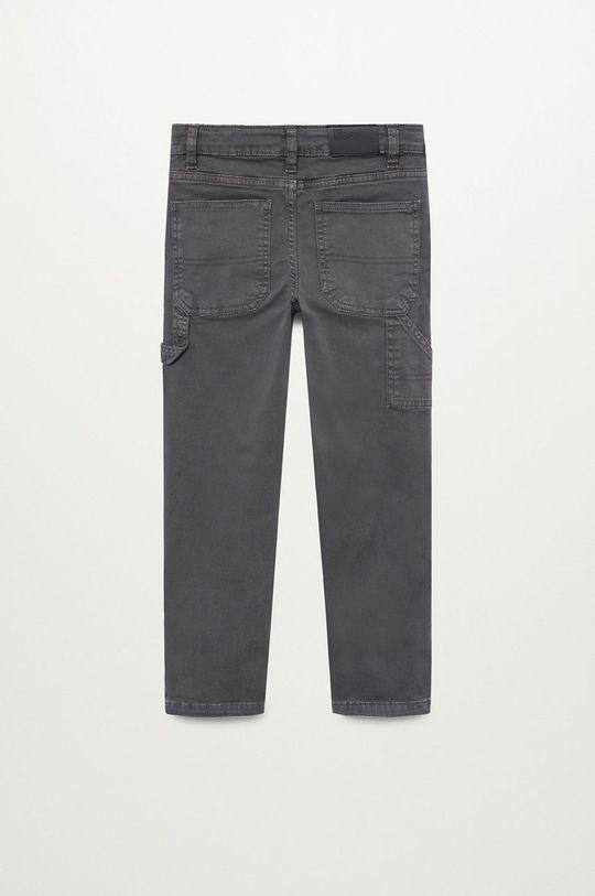 Mango Kids - Detské nohavice CARPENTE  Podšívka: 100% Bavlna Základná látka: 98% Bavlna, 2% Elastan