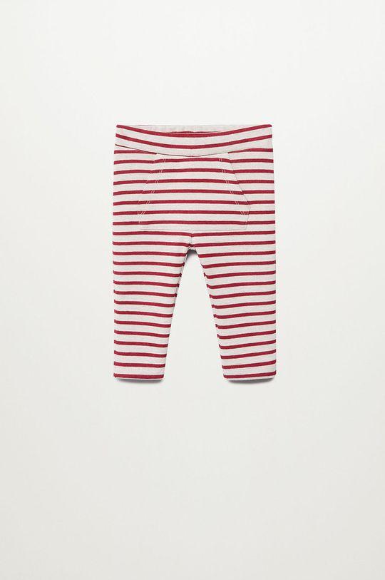 červená Mango Kids - Dětské kalhoty JUNEW Chlapecký