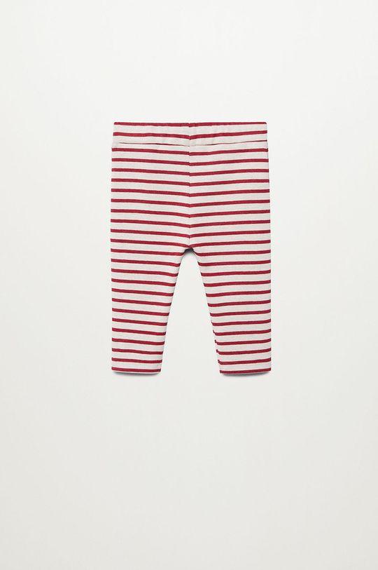 Mango Kids - Dětské kalhoty JUNEW červená