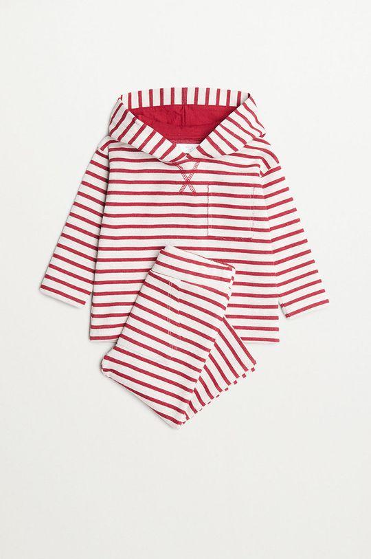 červená Mango Kids - Dětské kalhoty JUNEW